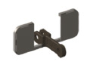 Скребки OO-образной конфигурации с упорными пластинами ФБ