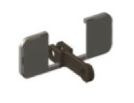 Замкнутые скребки П-образной конфигурации с упорными пластинами ФБ