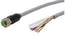 Разъем (CAN): измеряемый кабель M12x1; прямое гнездо