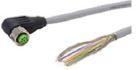 Разъем (CAN): измеряемый кабель M12x1; угловое гнездо